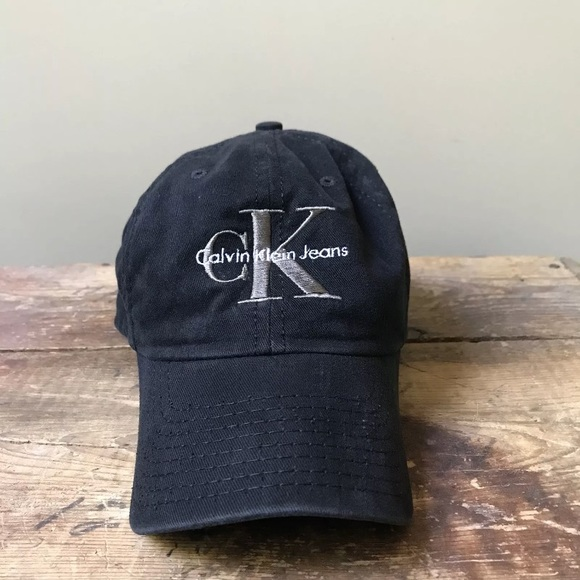 1c4583829f0 Calvin Klein Other - Vintage 90s Calvin Klein Jeans Snapback Hat CK